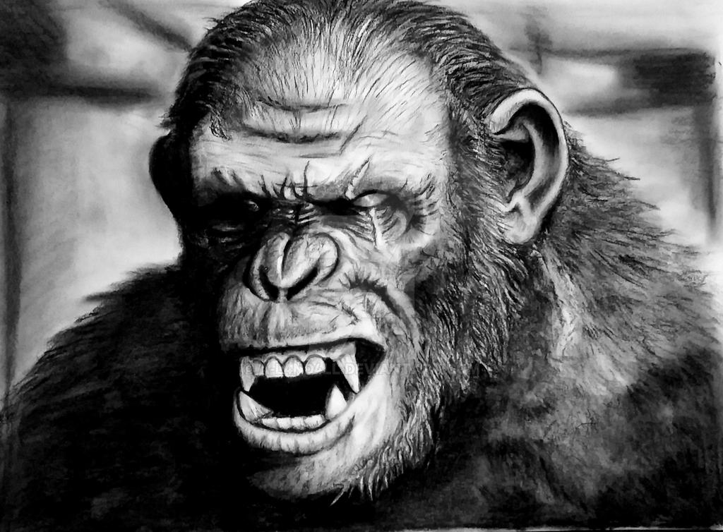 Koba 'Dawn Of The Planet Of The Apes' by A-L4ND4LL on ...