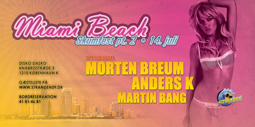 Miami Beach flyer