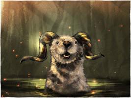 Horned-Swamp-Otter by Sc0tticus