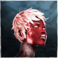 Cyborg Magenta Dame by Sc0tticus