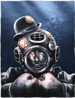 Ghastly-Dapper-Deep-Sea-Diver by Sc0tticus
