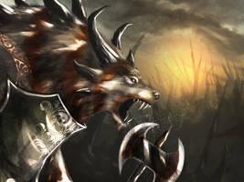 Wolfy Wolfington by Sc0tticus