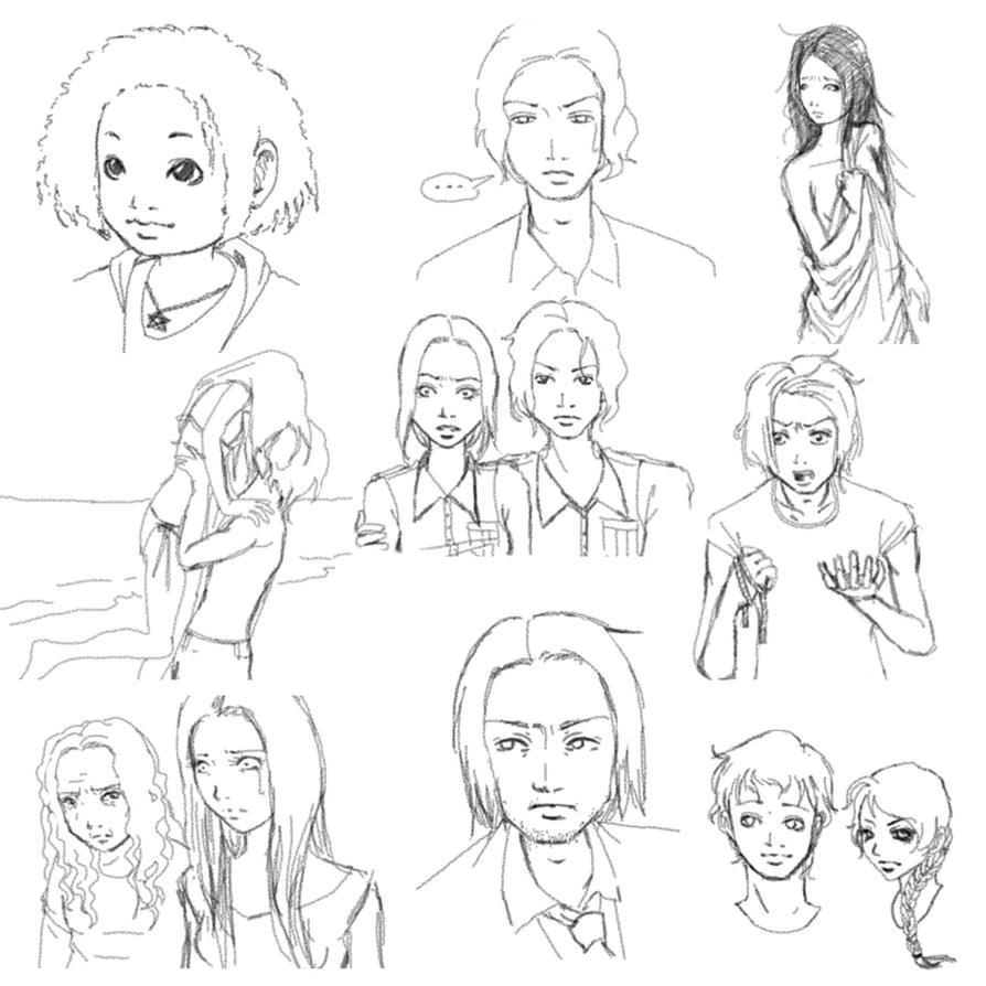 deviantart character sketches - photo #3