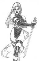 Psylocke by Monet88