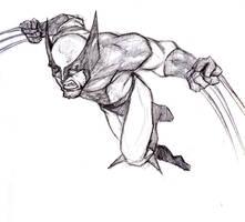 Wolverine sketch by Monet88