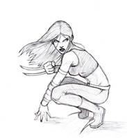 X-23 sketch by Monet88