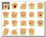Teddy Bear + Other PLZ Icons