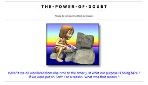 The Power Of Doubt