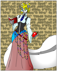 Eve the Librarian - Colored