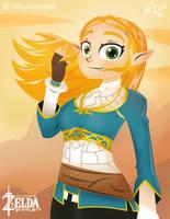 Zelda by Maltierrez