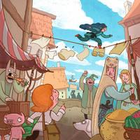 Illustration for Stories