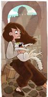 GoT: Arya catching cats