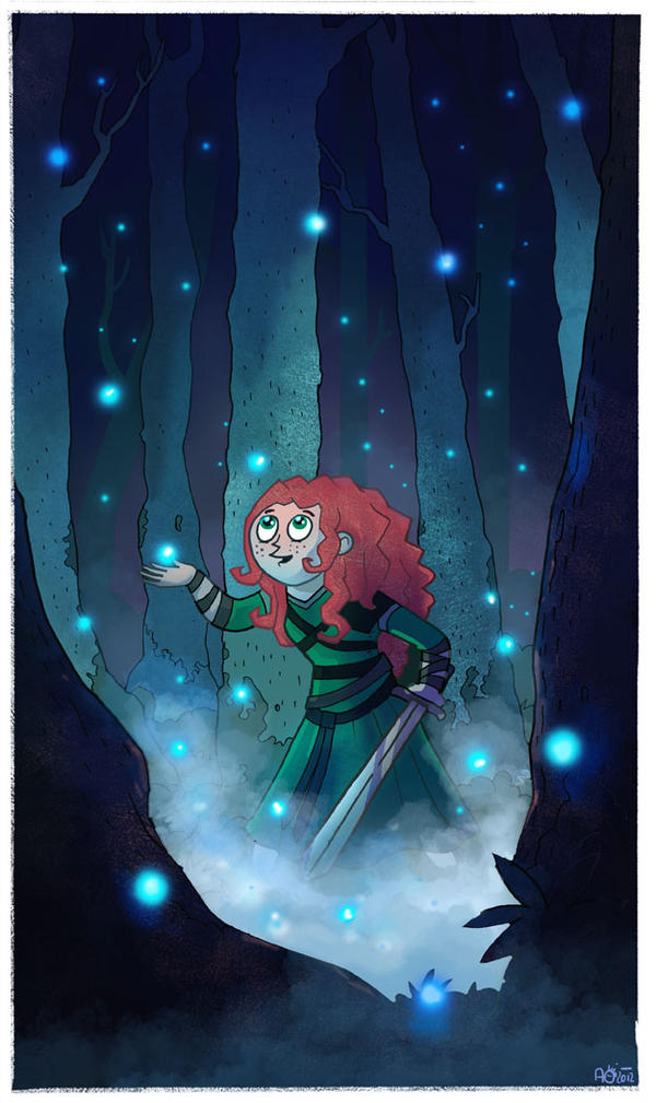 Brave Fanart: Pretty Little Lights by missqueenmob
