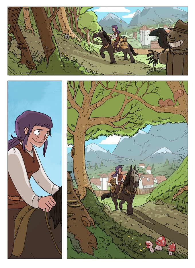 Excerpt Comic Collaboration Pepper-Chronicles by missqueenmob