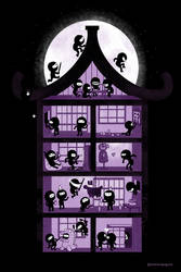 A House Full of Ninjas by annamariajung