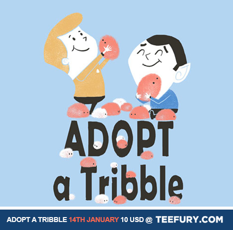 Adopt a Tribble by missqueenmob