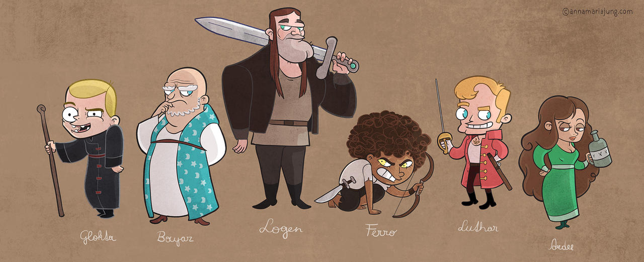 The First Law Characters by missqueenmob
