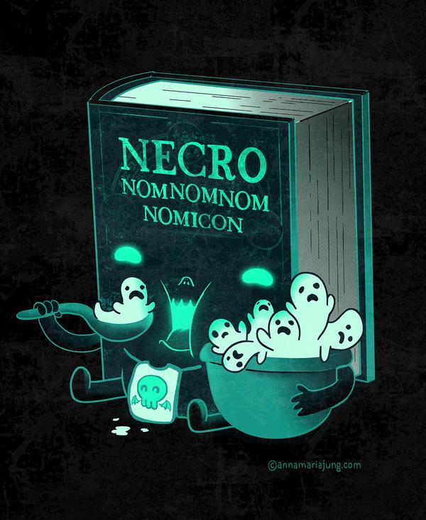 Necronomnomnomicon by missqueenmob