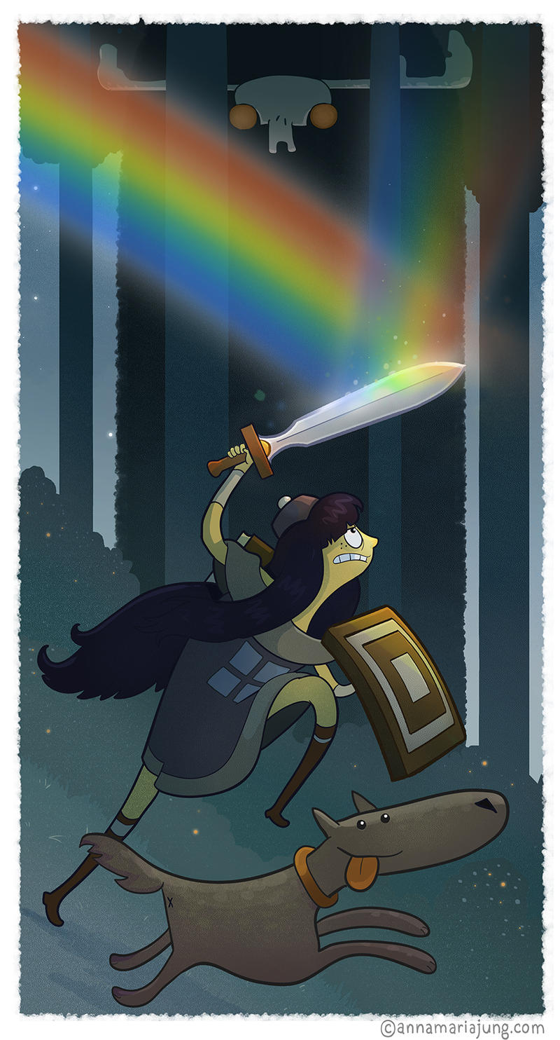 Die, Rainbow, Die! by missqueenmob