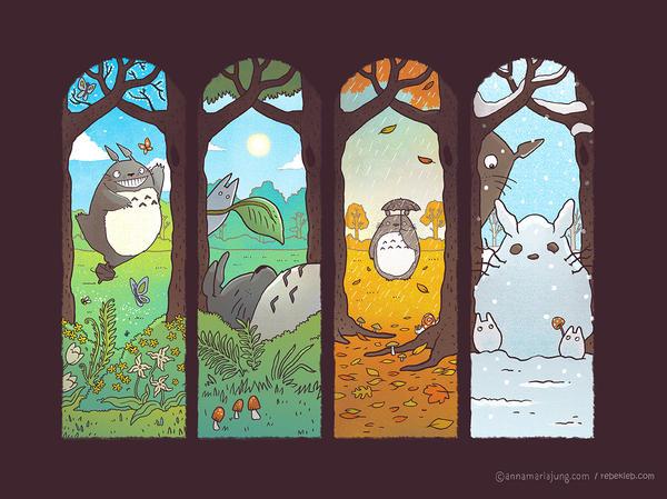 Spirit of the Seasons by missqueenmob