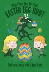 A Xenomorph Easter Special