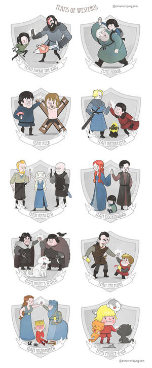 The Teams of Westeros