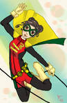 Robin the GIRL WONDER! by BeckyDeVendra