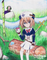 Blanc says: ''Subscribe To PewDiePie!'' by levelengine