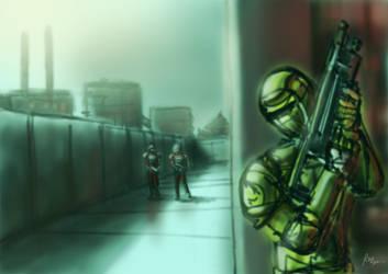 GDI Commando by RussellLim