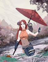 Contest:Kaiya Uzumaki by Mrs-w21