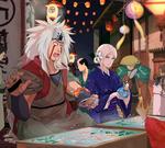 Jiraiya and Kaya