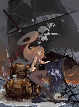 Pirate girl:Luna