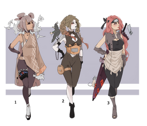 Outfit Adopts Closed #8-Naruto by Mrs-w21
