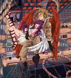 [ I'll catch you BNHA] Mira and Keigo Takami