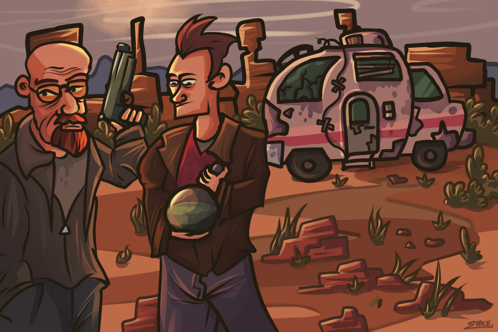 Breaking Bad by elliotp