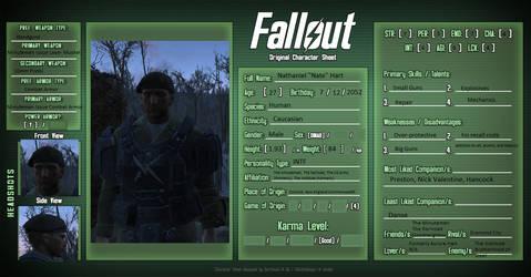 General Nathaniel Hart: Fallout 4 OC