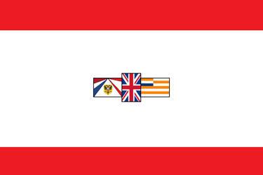 Flag of SudAfrika