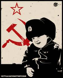 Soviet Propaganda by Vstyle