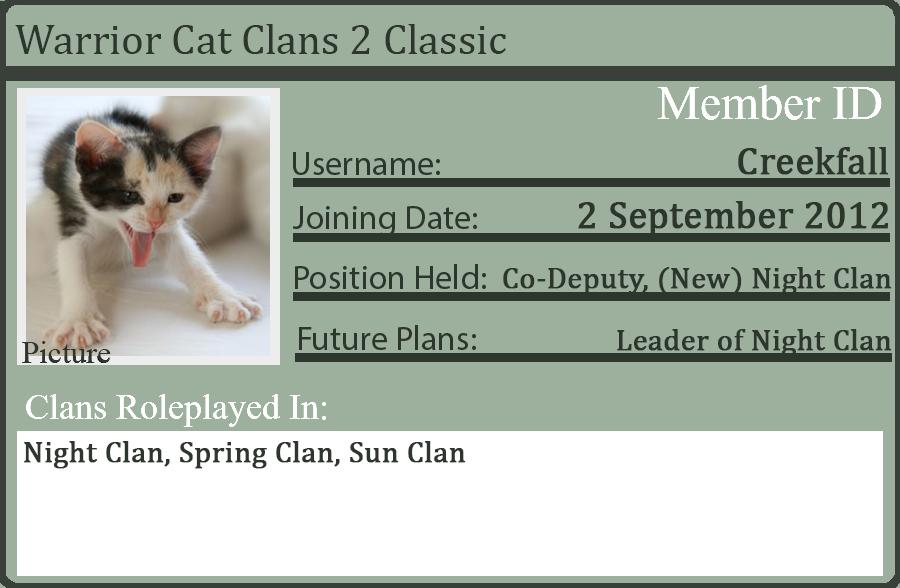 WCC2 ID Card by Bluefur101