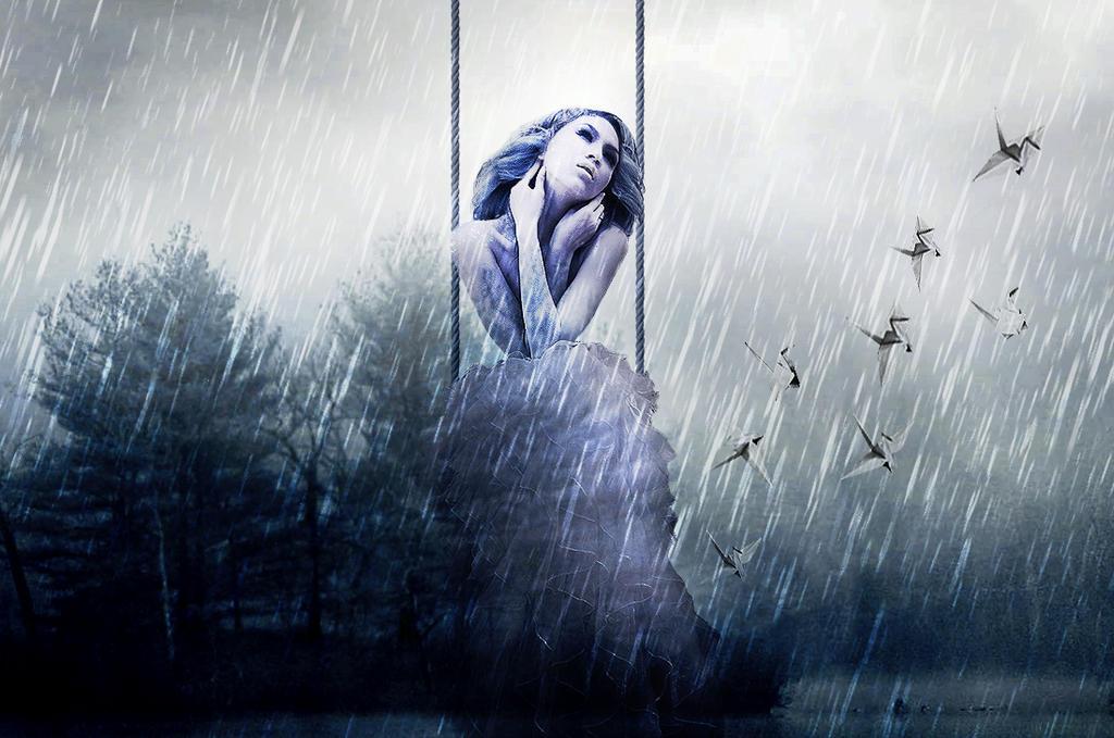 Hell Frozen Rain by TheRainGirl