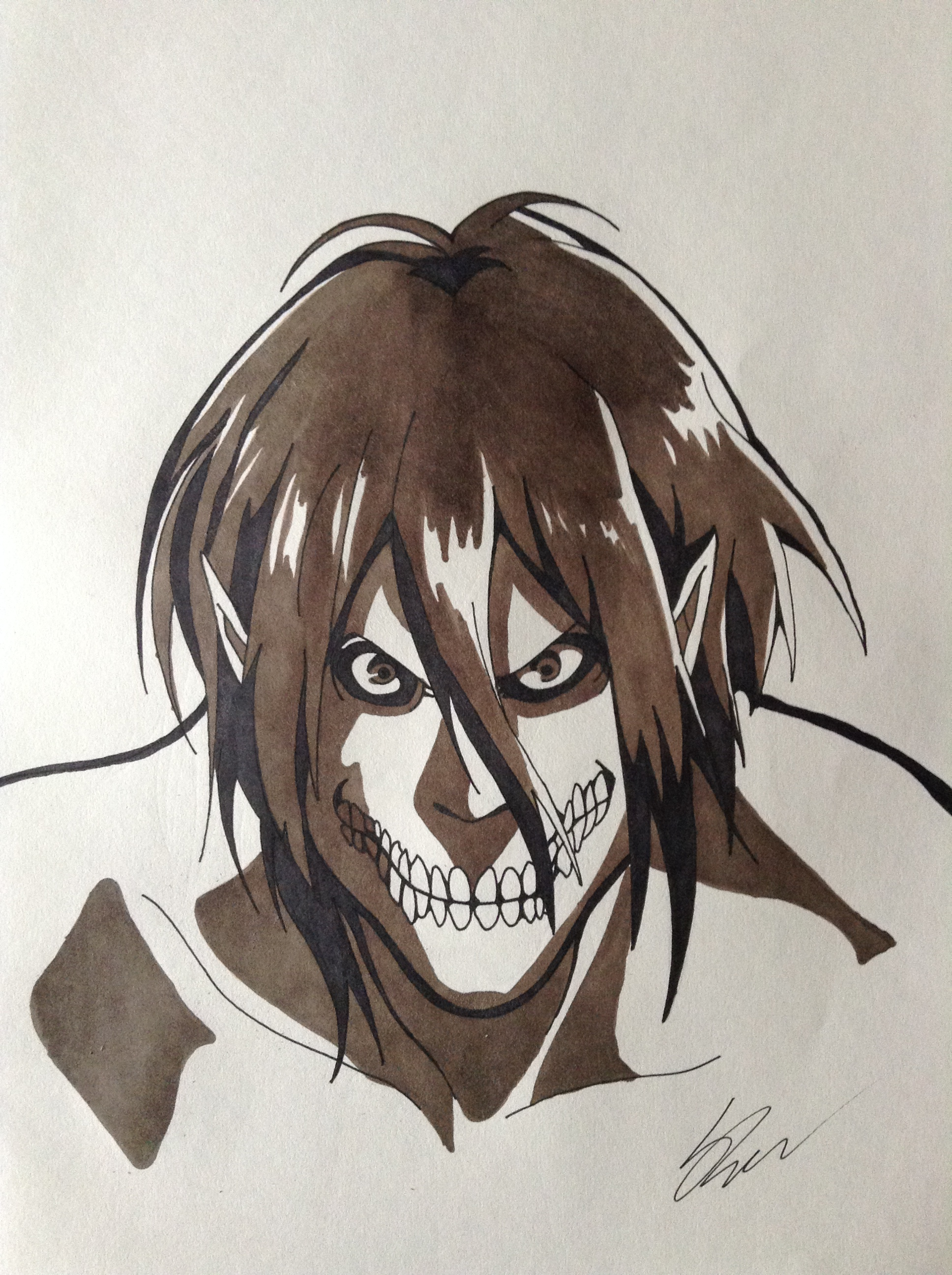 Attack on Titan - Eren Titan Form by FoxxyStewArt on ...