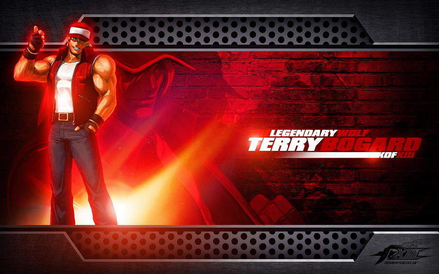 kof wallpaper. Terry Bogard KOF Wallpaper by