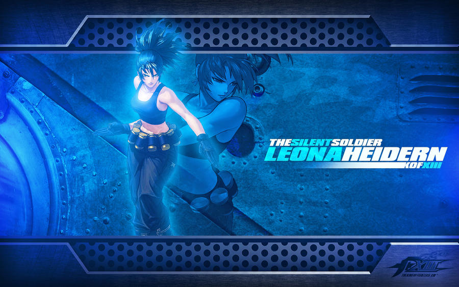 kof wallpaper. Leona Heidern KOF Wallpaper by