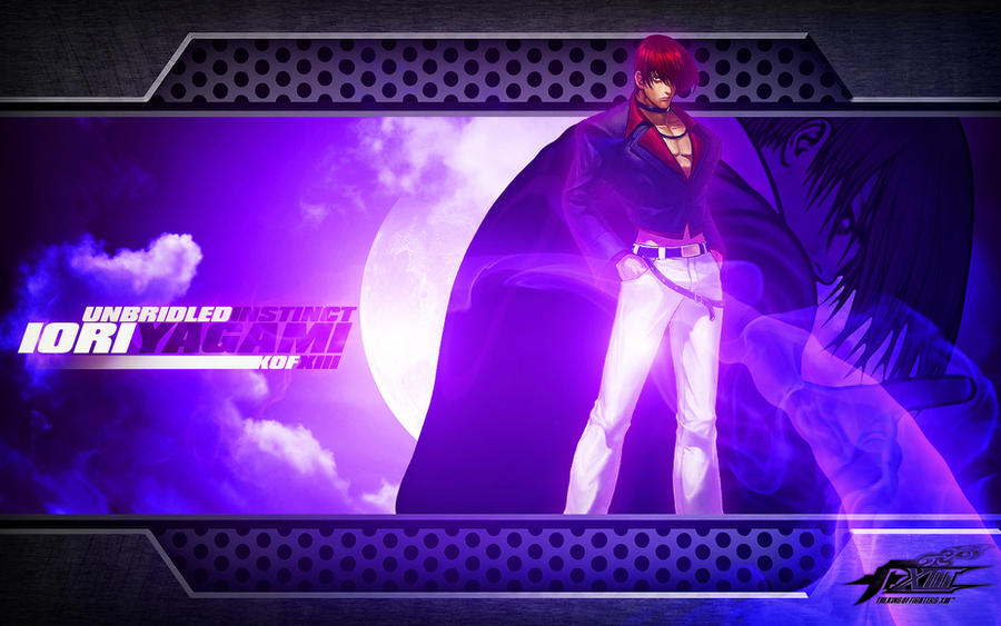 kof wallpaper. Iori Yagami KOF Wallpaper by