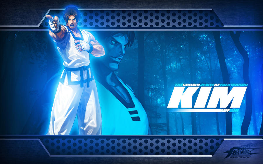 kof wallpaper. Kim KOF Wallpaper by