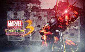 MVC 3 Deadpool Wallpaper by TheShadowloo