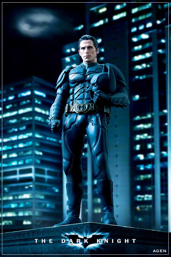 Bruce Wayne Dark Knight by AGENBOOMBER