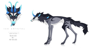 ICE CRYSTAL ADOPT AUCTION 13 |CLOSED