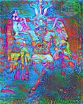 Psychedelic Baphomet
