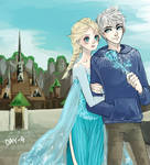 30 Day Challenge [Jelsa] Day 04 - On a date